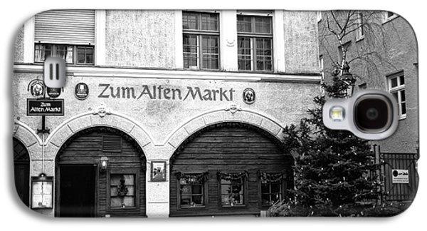 Food Stores Galaxy S4 Cases - Zum Alten Markt Galaxy S4 Case by John Rizzuto