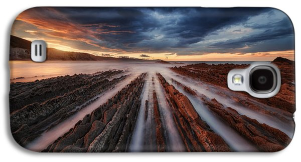 Zumaia Flysch 6 Galaxy S4 Case by Juan Pablo De