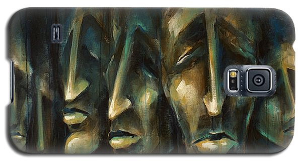 Paintings Galaxy S5 Cases -   Jury of Eight  Galaxy S5 Case by Michael Lang