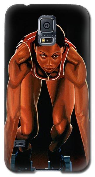 Buy Galaxy S5 Cases -  Allyson Felix  Galaxy S5 Case by Paul Meijering