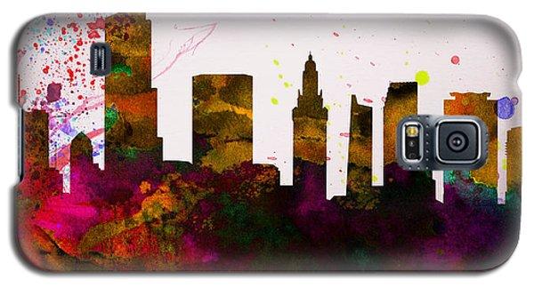Miami City Skyline Galaxy S5 Case by Naxart Studio