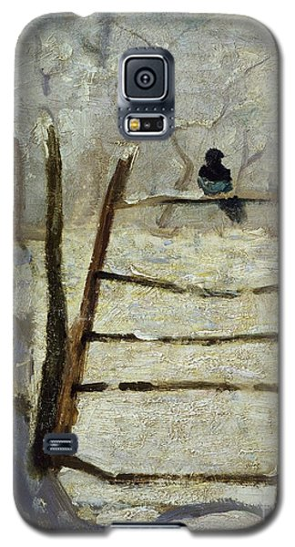 The Magpie Galaxy S5 Case by Claude Monet