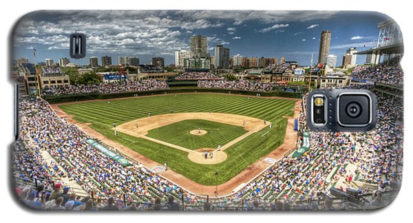 0234 Wrigley Field Galaxy S5 Case by Steve Sturgill