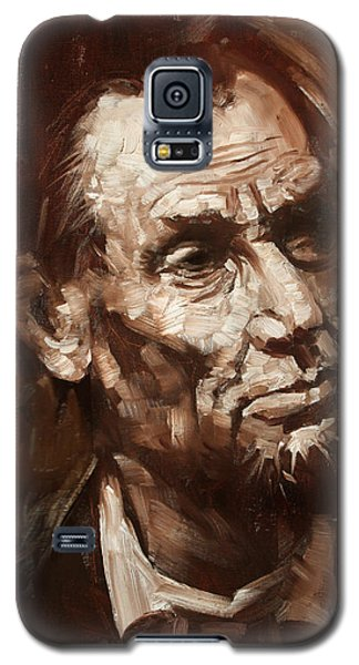 Abraham Lincoln Galaxy S5 Case by Ylli Haruni