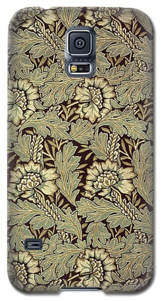 Tapestries - Textiles Galaxy S5 Cases - Anemone design Galaxy S5 Case by William Morris