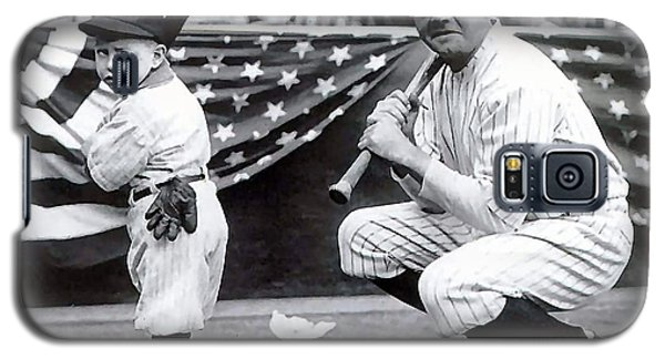 Babe Ruth Galaxy S5 Case by Marvin Blaine