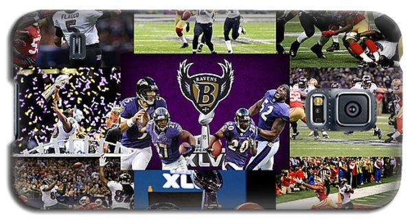 Baltimore Ravens Galaxy S5 Case by Joe Hamilton