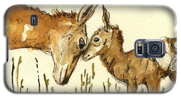 Bambi Deer Galaxy S5 Case by Juan  Bosco