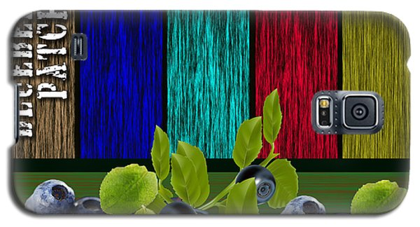 Blueberry Patch Galaxy S5 Case by Marvin Blaine
