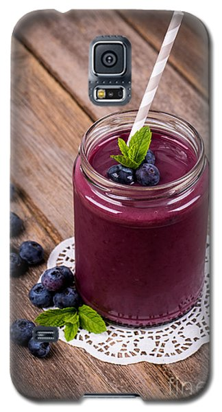Blueberry Smoothie Galaxy S5 Case by Jane Rix