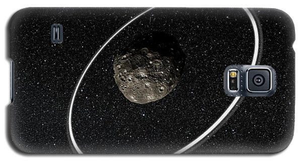 Chariklo Minor Planet And Rings Galaxy S5 Case by European Southern Observatory