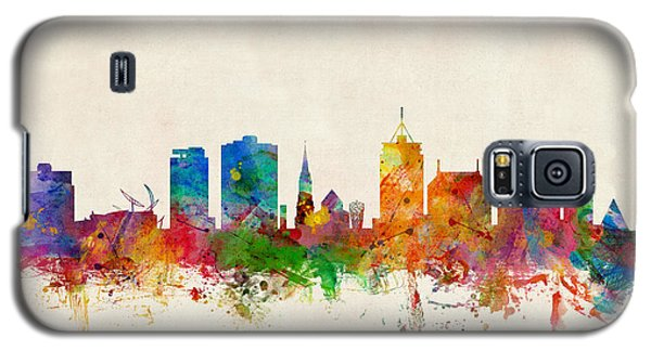 Recently Sold -  - Buy Galaxy S5 Cases - Christchurch New Zealand Skyline Galaxy S5 Case by Michael Tompsett