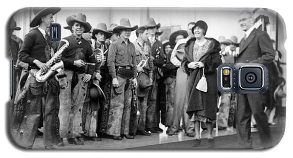 Cowboy Band, 1929 Galaxy S5 Case by Granger