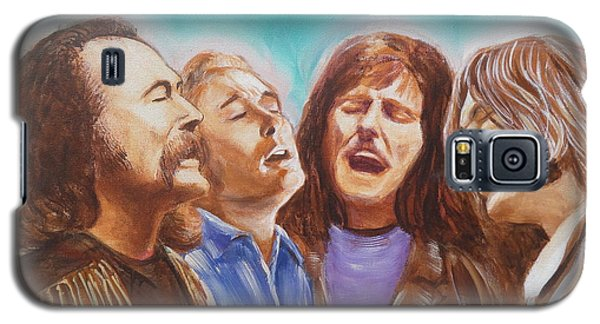 Crosby Stills Nash And Young Galaxy S5 Case by Kean Butterfield
