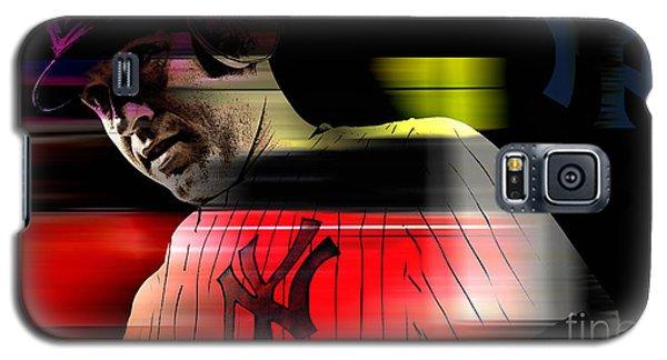 Derek Jeter Galaxy S5 Case by Marvin Blaine