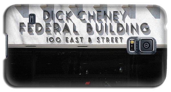 Dick Cheney Federal Bldg. Galaxy S5 Case by Oscar Williams