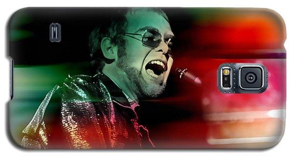 Elton John Galaxy S5 Case by Marvin Blaine