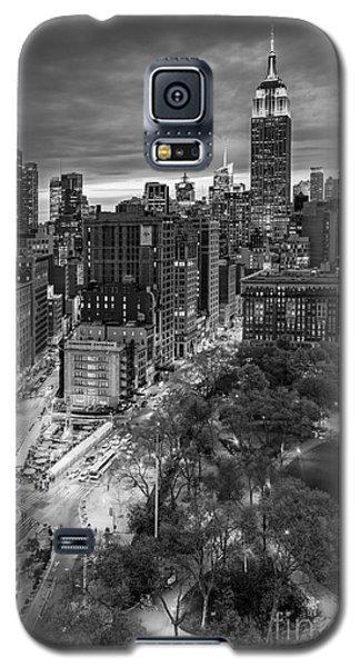 Flatiron District Birds Eye View Galaxy S5 Case by Susan Candelario