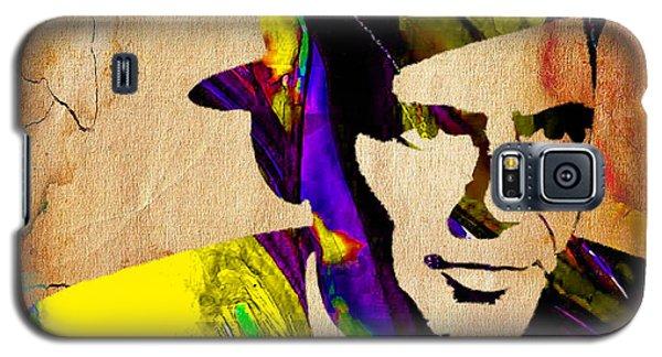 Frank Sinatra Art Galaxy S5 Case by Marvin Blaine
