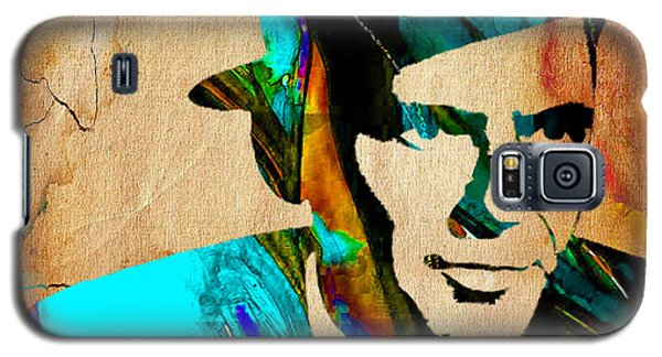 Frank Sinatra Paintings Galaxy S5 Case by Marvin Blaine