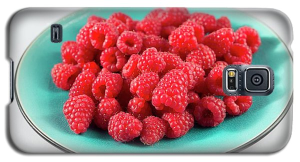 Fresh Raspberries Galaxy S5 Case by Aberration Films Ltd