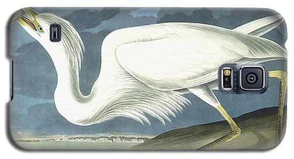 Great White Heron Galaxy S5 Case by John James Audubon