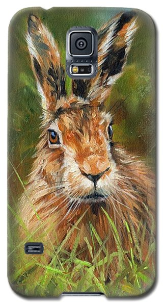 hARE Galaxy S5 Case by David Stribbling