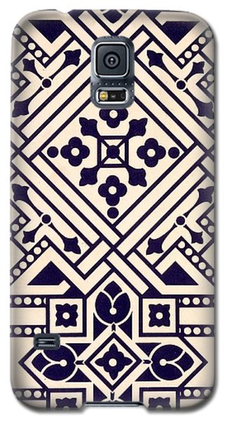 Tapestries - Textiles Galaxy S5 Cases - Illustration from Studies in Design Galaxy S5 Case by Christopher Dresser