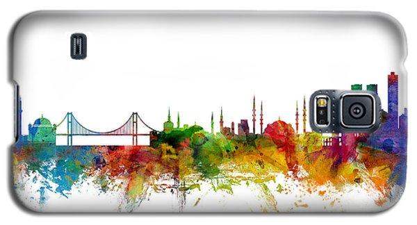 Istanbul Turkey Skyline Galaxy S5 Case by Michael Tompsett