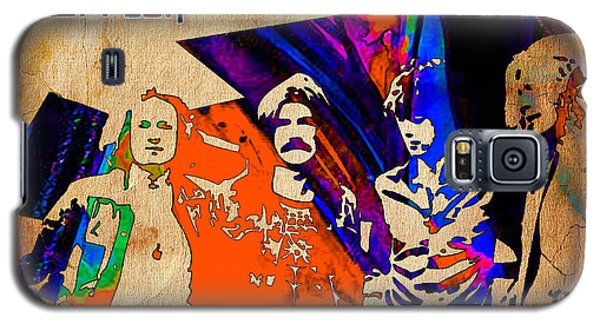 Led Zeppelin Painting Galaxy S5 Case by Marvin Blaine