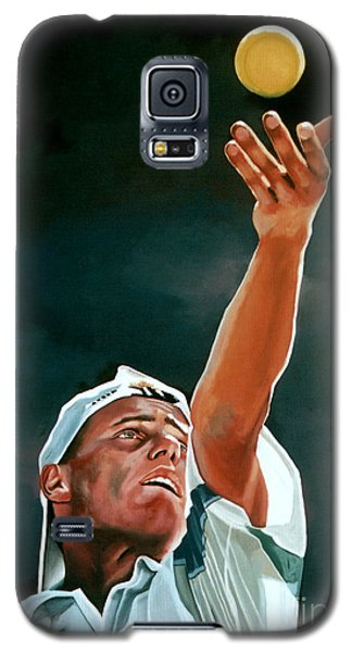 Lleyton Hewitt Galaxy S5 Case by Paul Meijering