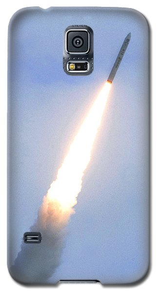 Minotaur Iv Lite Launch Galaxy S5 Case by Science Source
