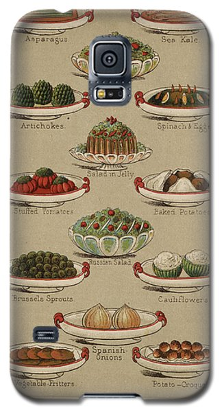 Mrs. Beeton's Family Cookery And Housekee Galaxy S5 Case by British Library