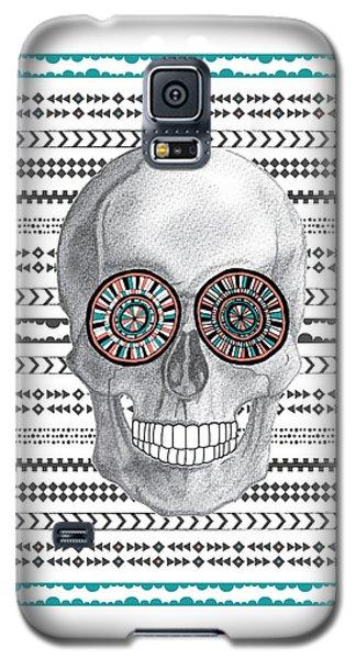 Navajo Skull Galaxy S5 Case by Susan Claire