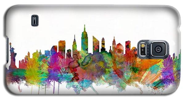New York City Skyline Galaxy S5 Case by Michael Tompsett
