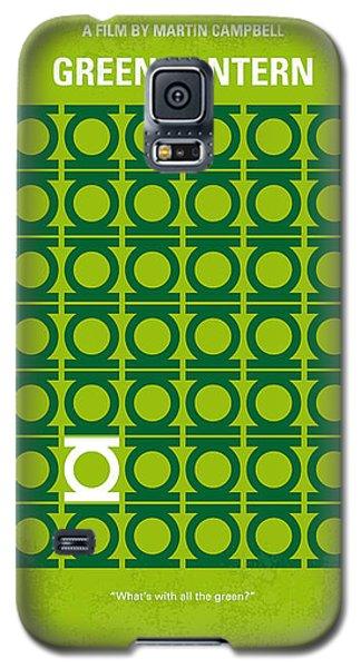 Green Galaxy S5 Cases - No120 My GREEN LANTERN minimal movie poster Galaxy S5 Case by Chungkong Art