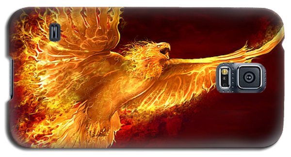 Phoenix Rising Galaxy S5 Case by Tom Wood