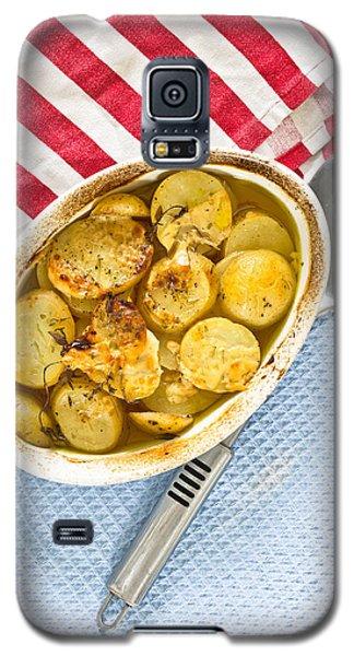 Potato Dish Galaxy S5 Case by Tom Gowanlock