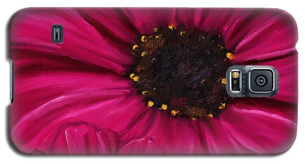 Purple Beauty Galaxy S5 Case by Lourry Legarde