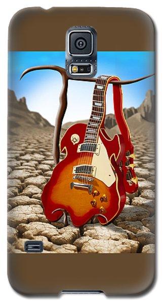 Soft Guitar II Galaxy S5 Case by Mike McGlothlen