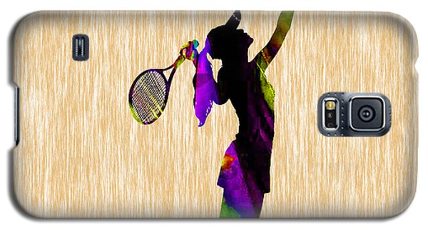Tennis Match Galaxy S5 Case by Marvin Blaine