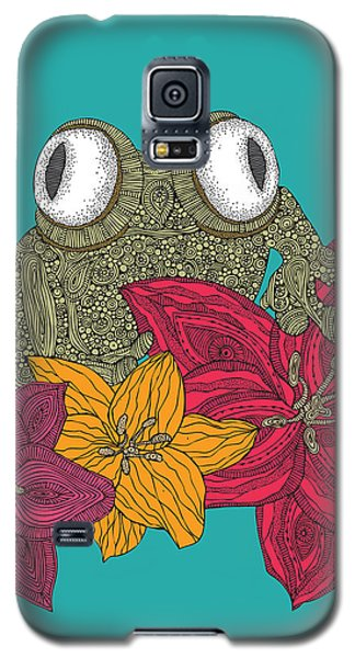 The Frog Galaxy S5 Case by Valentina Ramos