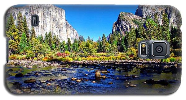 Valley View Yosemite National Park Galaxy S5 Case by Scott McGuire