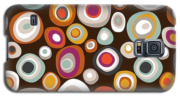 Veneto Boho Spot Chocolate Galaxy S5 Case by Sharon Turner