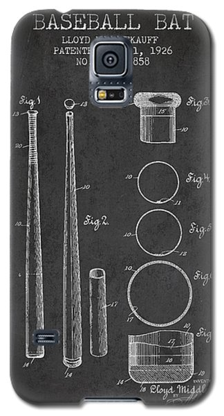 Vintage Baseball Bat Patent From 1926 Galaxy S5 Case by Aged Pixel