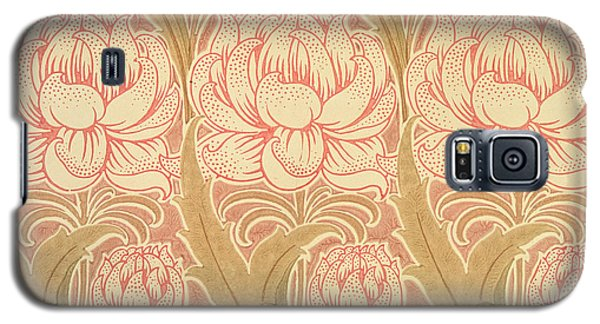 Tapestries - Textiles Galaxy S5 Cases - Wallpaper design Galaxy S5 Case by Victorian Voysey