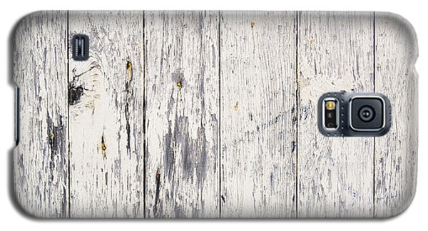 Weathered Paint On Wood Galaxy S5 Case by Tim Hester