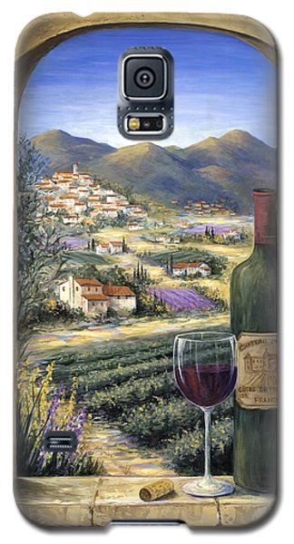 Red Galaxy S5 Cases - Wine and Lavender Galaxy S5 Case by Marilyn Dunlap