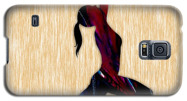 Fitness Yoga Galaxy S5 Case by Marvin Blaine