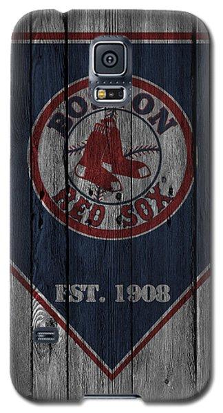 Boston Red Sox Galaxy S5 Case by Joe Hamilton
